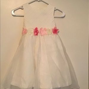Rare Editions white dress size 5